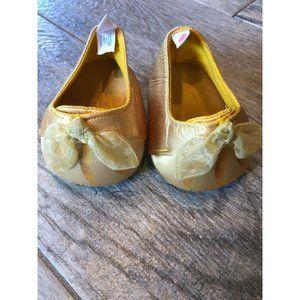 BABW Build a Bear Workshop Gold High Heel Shoes